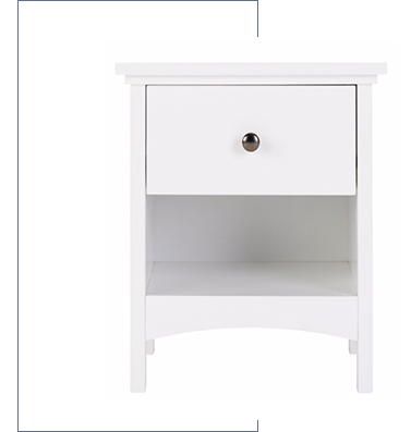 Enter in a new peace of mind with our fabulous storage ideas for the bedroom at George.com
