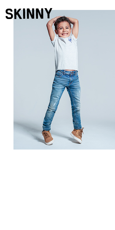 Their mini wardrobe wouldn't be complete without staple skinny jeans at George.com