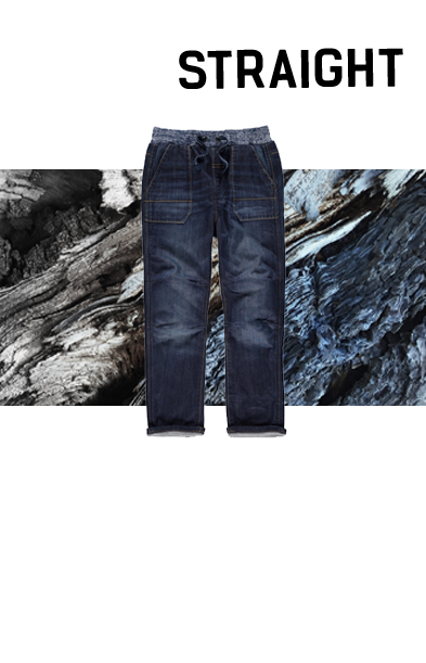Top off their weekend look with a pair of straight jeans at George.com