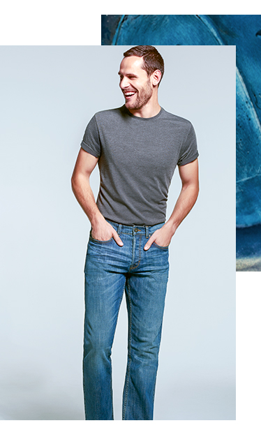 Opt for a classic cut this season with our bootcut jeans at George.com