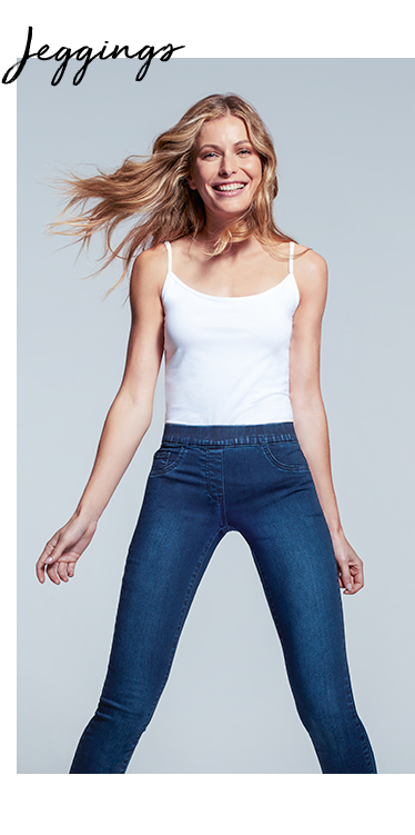 Need something comfortable and easy to throw on? Opt for a pair of jeggings at George.com