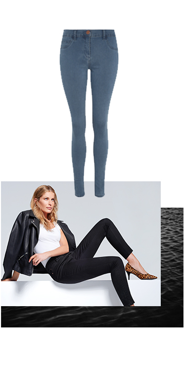 Jeans that never lose their shape! - check out our wonderform's George.com