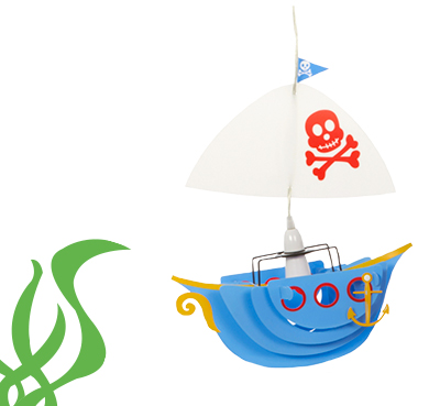 Create the right mood so they can sail off to sweet dreams with our range of lighting at George.com