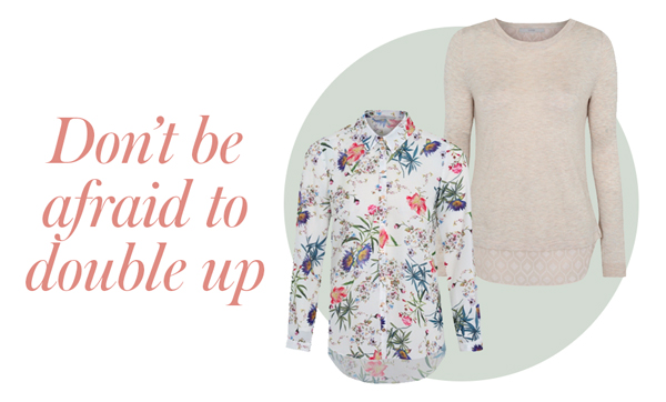Pair pretty blouses and stylish jumpers at George.com