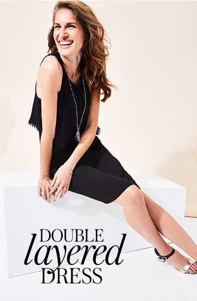 Browse double layered dresses at George.com