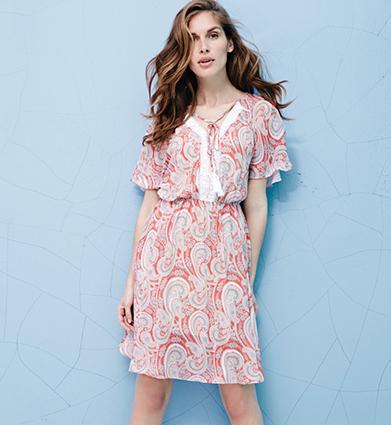 Shop printed sleeved dresses at George.com