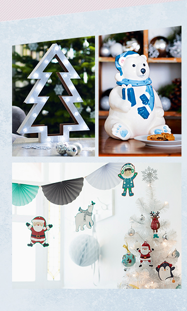 From light up decorations to figurines - shop all Xmas decorations at George.com