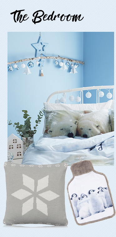 Turn your bedroom into a wonderland with printed bed sets and glowing string lights at George.com