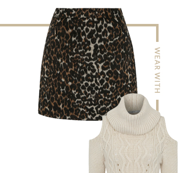 Bring back an 80's classic with the leopard print skirt at George.com