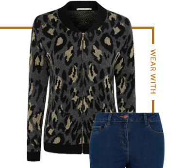 Chic and stylish - shop printed bomber jackets at George.com