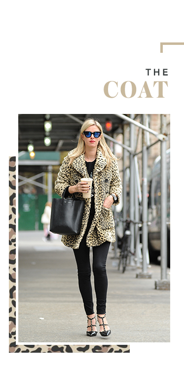 Cover up in style with a glamorous leopard print coat at George.com