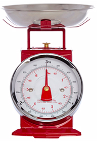 Find spectacular retro weighing scales for your baking creations at George Home