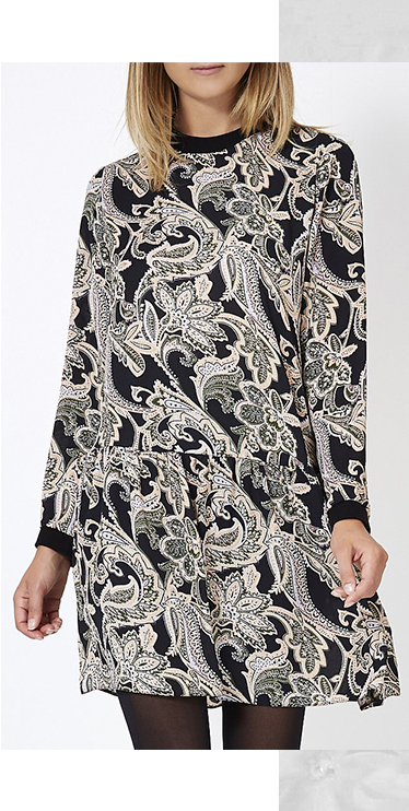 Get your print on with a chic floral dress at George.com