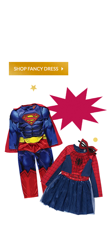 Who will they transform into this Christmas? Shop fancy dress at George.com