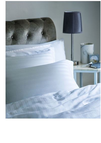 Freshen up your bed space with silvers and golds for a luxe finish at George.com