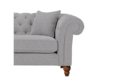 Welcome in a cool and modern mood into your living room with our range of grey sofas at George.com