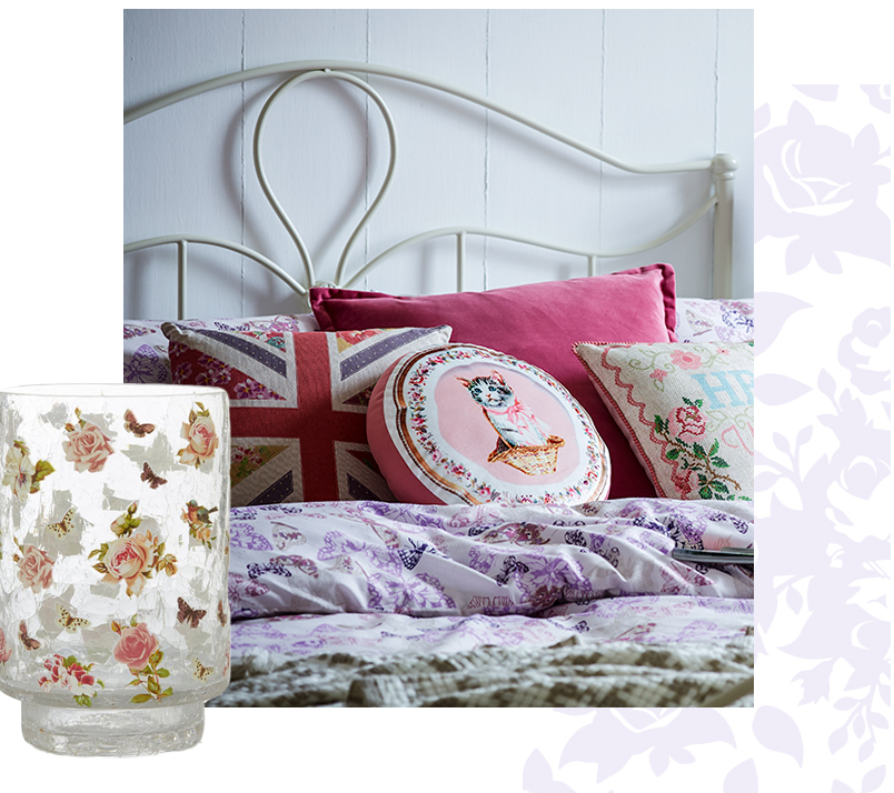 Accessorise with patchwork and florals from our Twisted Vintage range at George.com