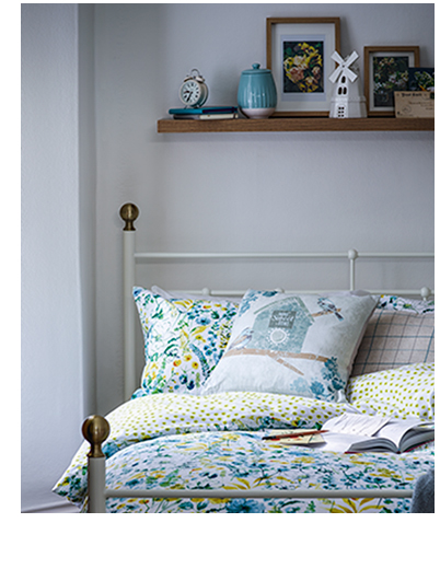 Decorate your space with florals and watercolours with our Ambleside collection at George.com