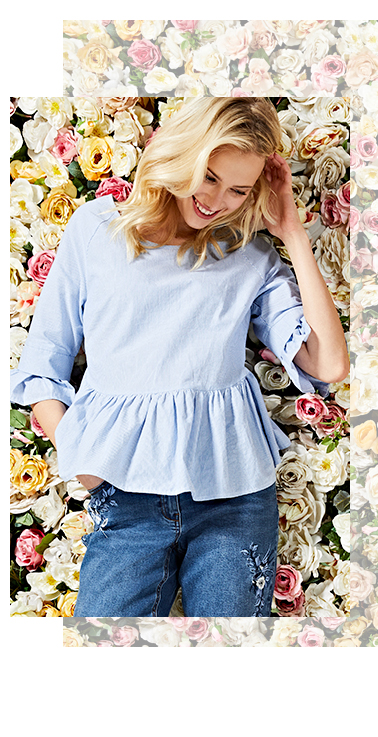 Opt for a chic, feminine blouse at George.com