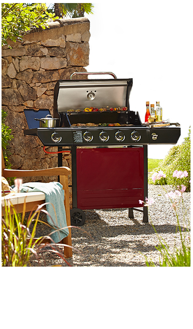 Send temperatures searing with our delicious barbecues at George, from 4 burners to BBQ smokers
