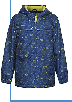 Add a splash of fun to your little one's wardrobe with a trendy mac at George.com