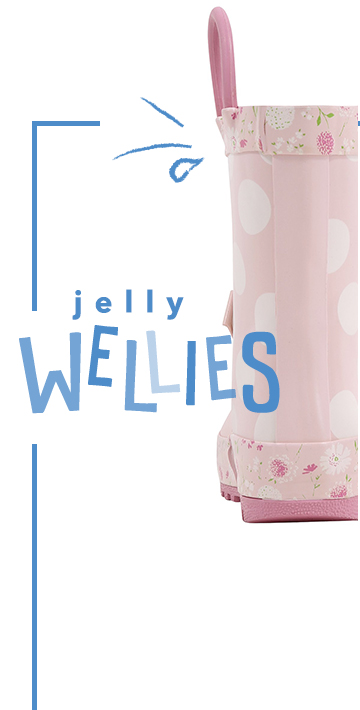 Keep little feet dry and cosy with our selection of wellies at George.com