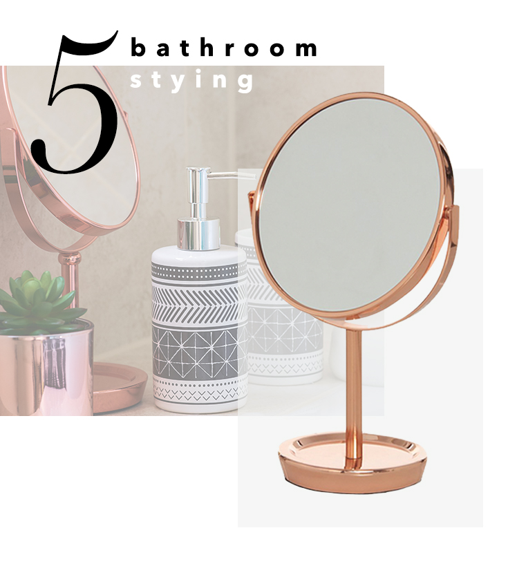 Complete the look of your bathroom space with all the accessories you'll need at George.com