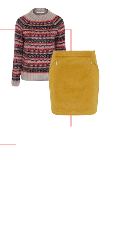 Cosy up the mini skirt for the colder seasons at George.com