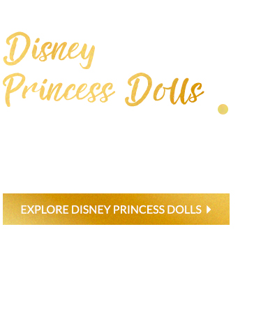 Create wonderful fairy tale worlds with Disney princess dolls at George.com
