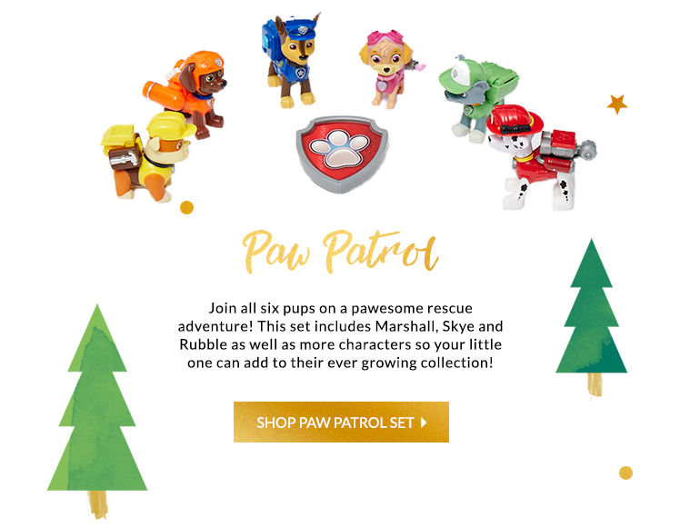 Santa has come to your rescue with the latest Paw Patrol toys, find them all at George.com