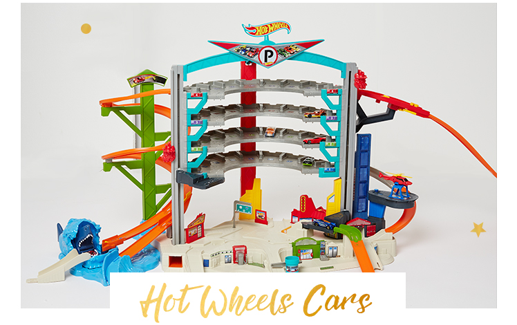 Speed into action with Hot Wheels toys and more at George.com