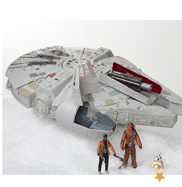 Recreate the epic action from the iconic Star Wars movie with our awesome toy range at George.com