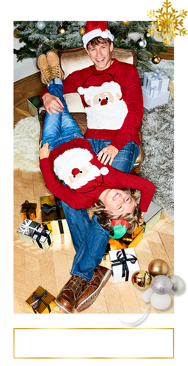 The little ones (and big ones) will love these brilliant Christmas outfits – discover them all at George.com