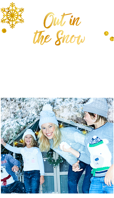 Embrace the wintry weather with cover-ups and accessories at George.com