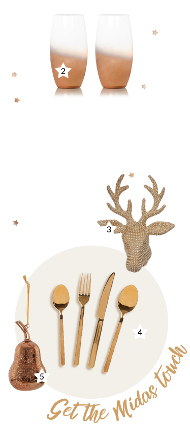 Get the Midas touch with our stunning selection of copper dinnerware and decorations at George.com