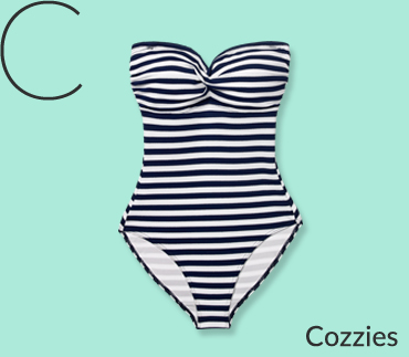 Swap your bikini for an on-trend swimming costume at George.com