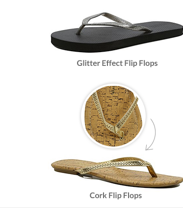 Discover flip flops at George.com