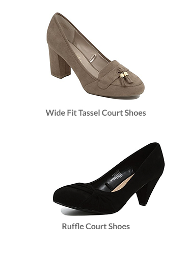 Discover stylish footwear at George.com