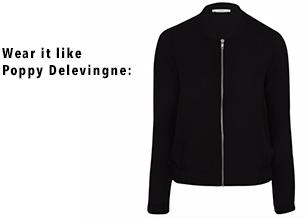 Shop our versatile black bomber jacket at George.com