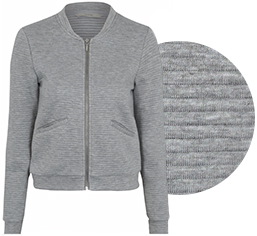 Spruce up your workwear with our ribbed bomber jacket at George.com