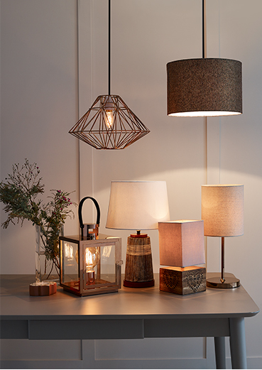 Light up your home with our fabulous lighting selection at George.com