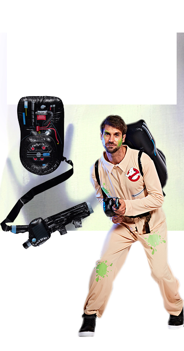 Return as your favourite Ghostbusters characters with our awesome boiler outfits at George.com
