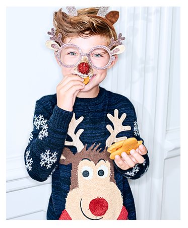 Put the warmth back into winter styling with our lovely range of Christmas jumpers at George.com