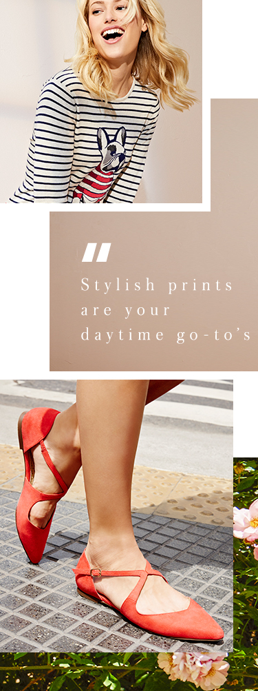 Opt for chic patterns and prints at George.com