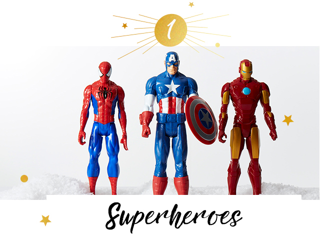 Make it the best Christmas yet with our range of superhero toys at George.com