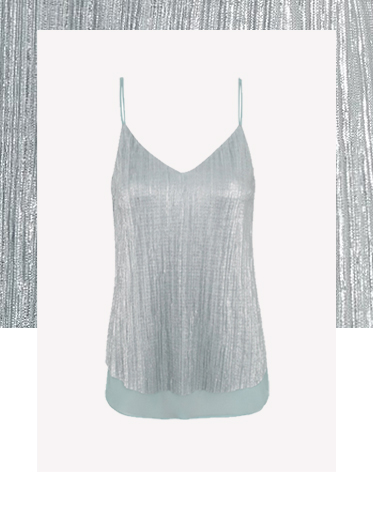Simple, sassy and sweet - shop metallic camisoles at George.com