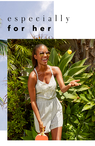 Especially for her IMAGE 1 – Be beach-ready with our essentials at George.com