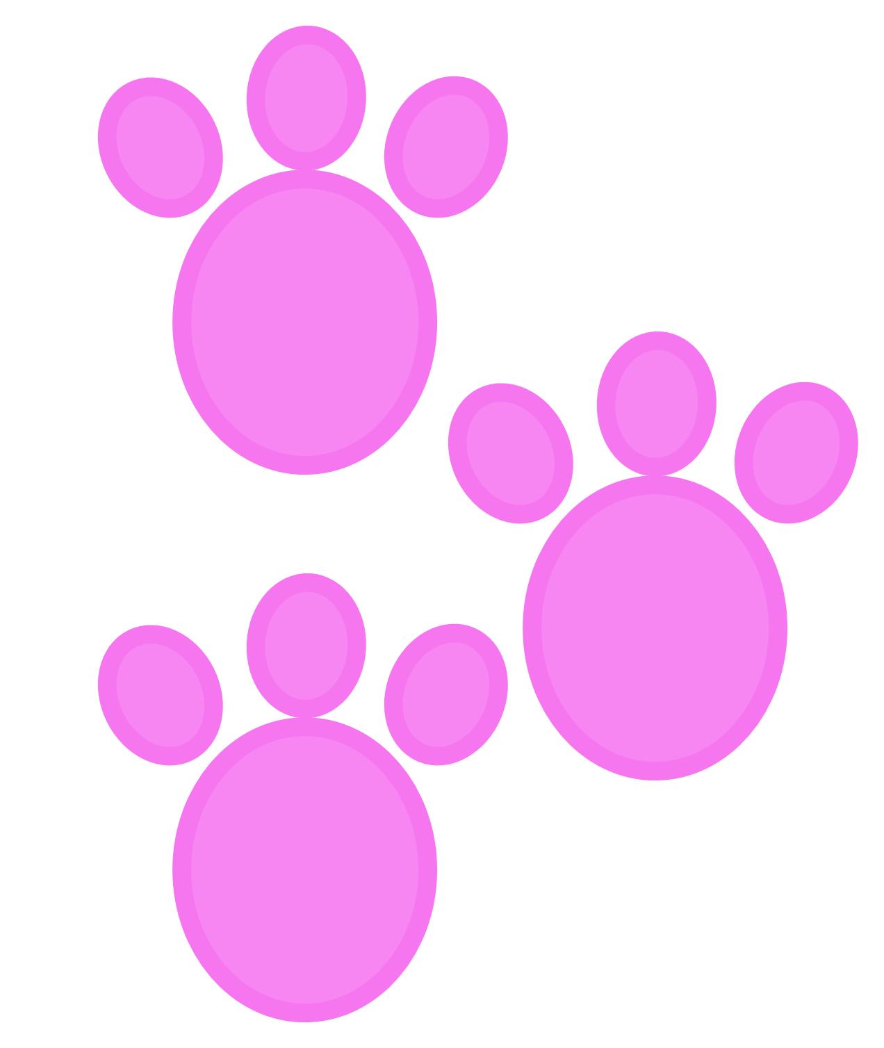 rabbit footprint
