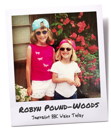 Robyn Pound-wood childhood picture