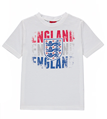 Shop boys red white and blue polo shirts, England t-shirts and boys' trainers